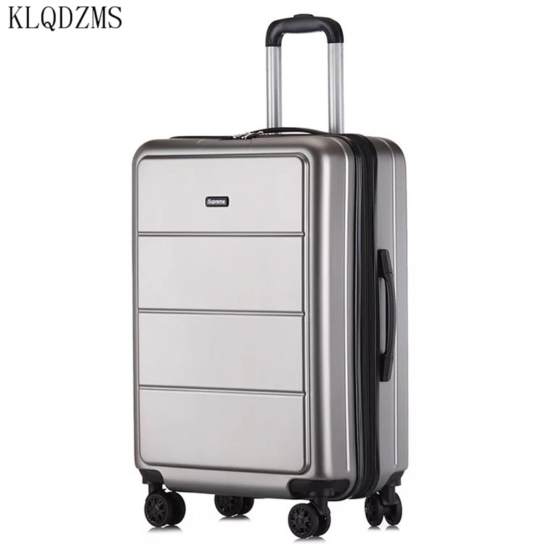 Business Travel Boarding Suitcase Lightweight Travel Carry On Cabin Hand Luggage Suitcase with 4 Wheels /&TSA Lock,Black,24in