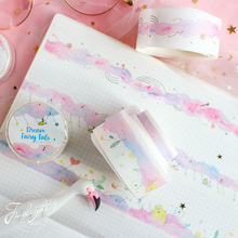 3 pcs Pink dream color washi tape set 25mm Cartoon fairy tale masking tapes sticker scrapbooking decoration gift Stationery F313