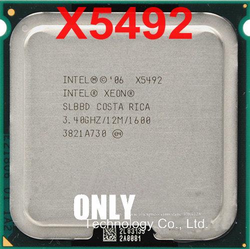 Free Shipping Intel Xeon X5492 3 4ghz 12mb 1600mhz Quad Core Server Lga 771 Cpu Slbbd Test 100 Work Ok Intel Xeon X5492 Lga 771 Cpuintel Xeon Aliexpress