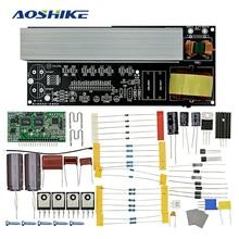 Aoshike 2000 W Pur Onde sinusoïdale Conseil Power Inverter Onde sinusoïdale Modifiée Post Amplificateur Kits avec dissipateurs De Chaleur