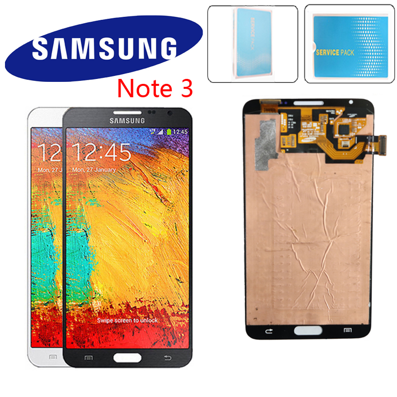 ORIGINELE 5.7'' SUPER AMOLED For SAMSUNG Galaxy Note3 Touch Screen Note 3 N9005 N900 N900 ATAT LCD Digitizer Montage Onderdelen-in Mobile Phone LCD Screens from Cellphones & Telecommunications    1