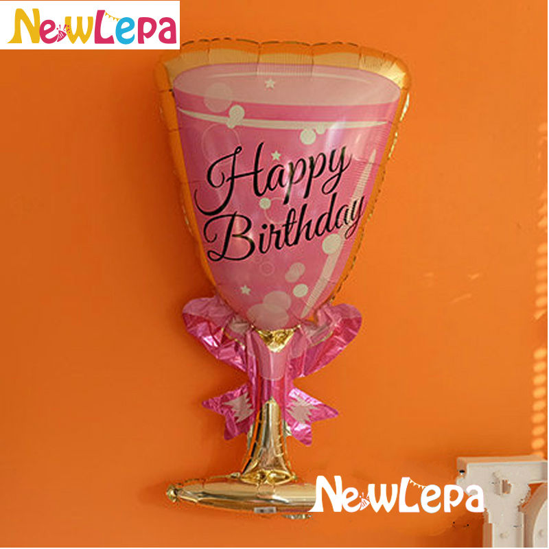 Nove teme Flamingo Birthday Foil Balloons Happy Birthday Dekoracija - Prazniki in zabave - Fotografija 4