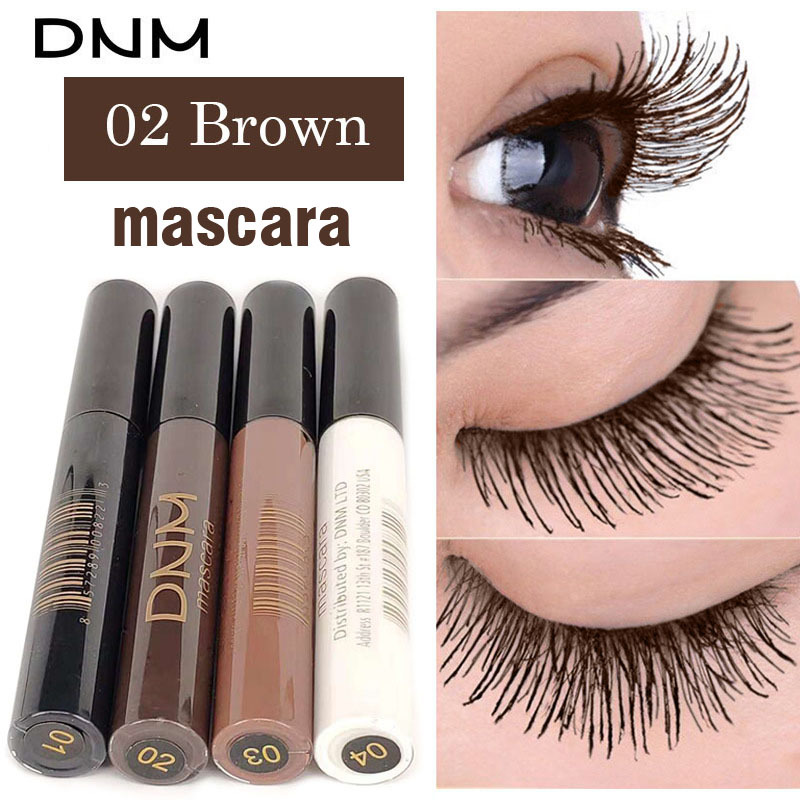 Natural Eye Lash Extension Colorful Mascara Makeup Party Festival Black  Brown White Color Waterproof Curling Mascara Eyes Tools