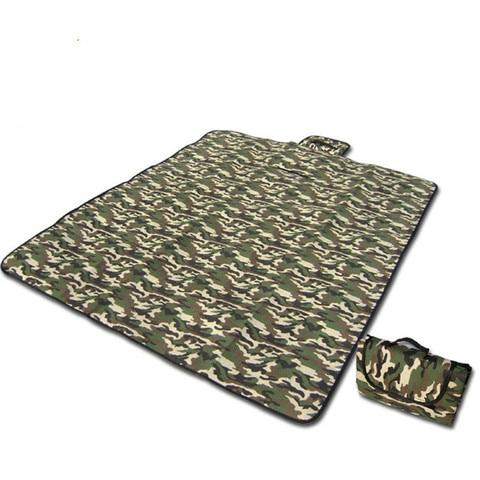 camuflagem esteira de piquenique ao ar livre umidade almofada piso rastejando tenda praia tress dormir