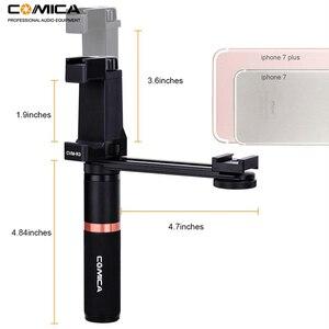 Image 2 - Comica CVM R3 смартфон видео Rig Рукоятка Ручка стабилизатор комплект для iPhone X 8 7 6s Plus для Samsung Huawei и т. Д.