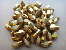 With Tracking Number 5pcs lot 3D Printer Nozzle Mixed Sizes 0 2mm 0 3mm 0 4mm