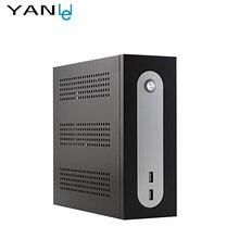 YANLEI Мини-ПК ssd Celeron 1037U dual core с wi-fi поддержка Обновления Оборудования Для Промышленного управления Мультимедиа домашний кинотеатр