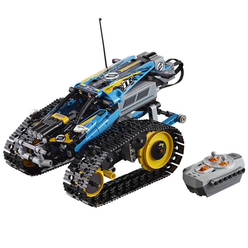 Newtoytechnic series the Remote Controlled Stunt Racer Model Building Blocks set Compatible with 42095 classic toys 20096 in Blocks from Toys Hobbies