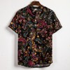 Hawaiian Linen Men Shirts