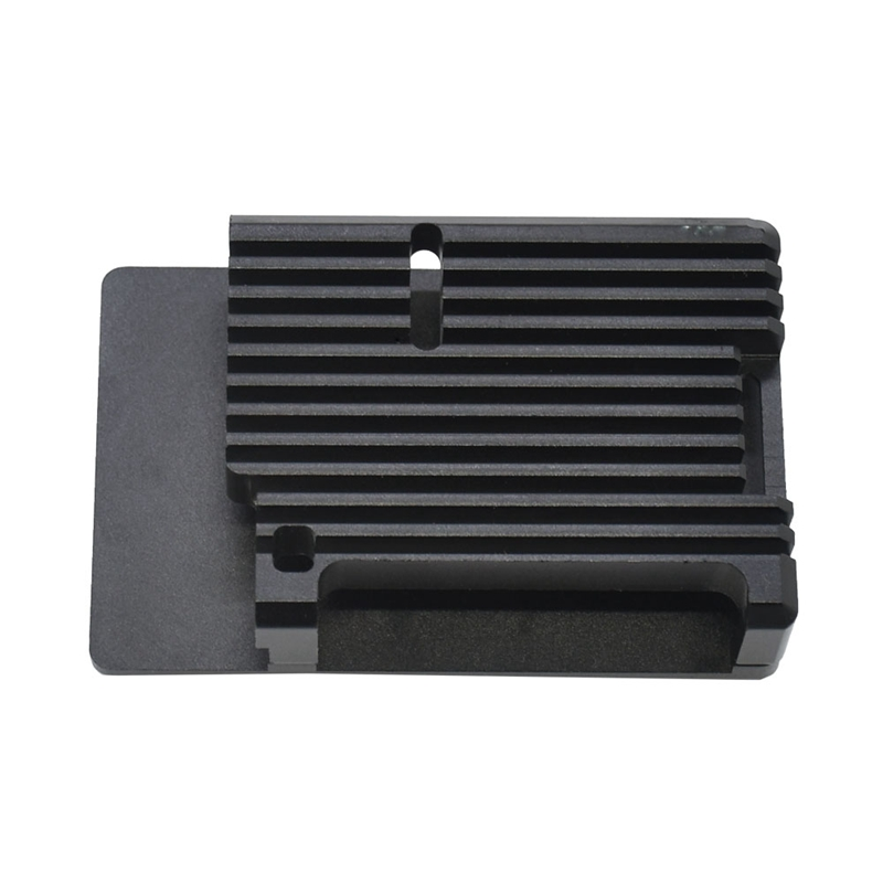 Aluminum Alloy Cnc Enclosure Case Metal Shell Suitable For Raspberry Pi 4B+