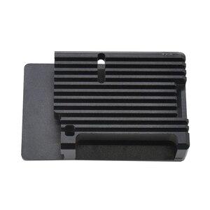 Aluminum Alloy Cnc Enclosure Case Metal Shell Suitable for Raspberry Pi 4B+(China)