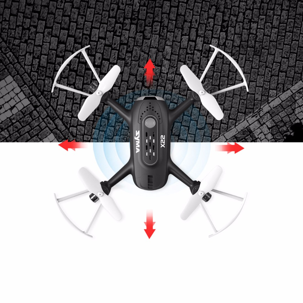 цены SYMA X22 2.4G 4 Channel Remote Control Helicopter Radio Control Drone Aircraft Mini RC Drone Quadcopter Professional no Camera