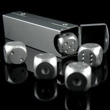 Штук, (покер, (кубики) других) домино разных игр алюминиевые настольных кости и