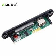 KEBIDU 5 в 12 В Bluetooth MP3 плеер декодер доска MP3 декодер доска FM радио TF USB 3,5 мм WMA AUX аудио приемник автомобильный комплект