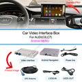 GPS do carro de Interface De Vídeo para 3g mmi AUDI A1/Q3/A4/A5/Q5/A6/Q7/A8 andriod sistema de navegação gps box suporte 1080 P Wi-fi Embutido