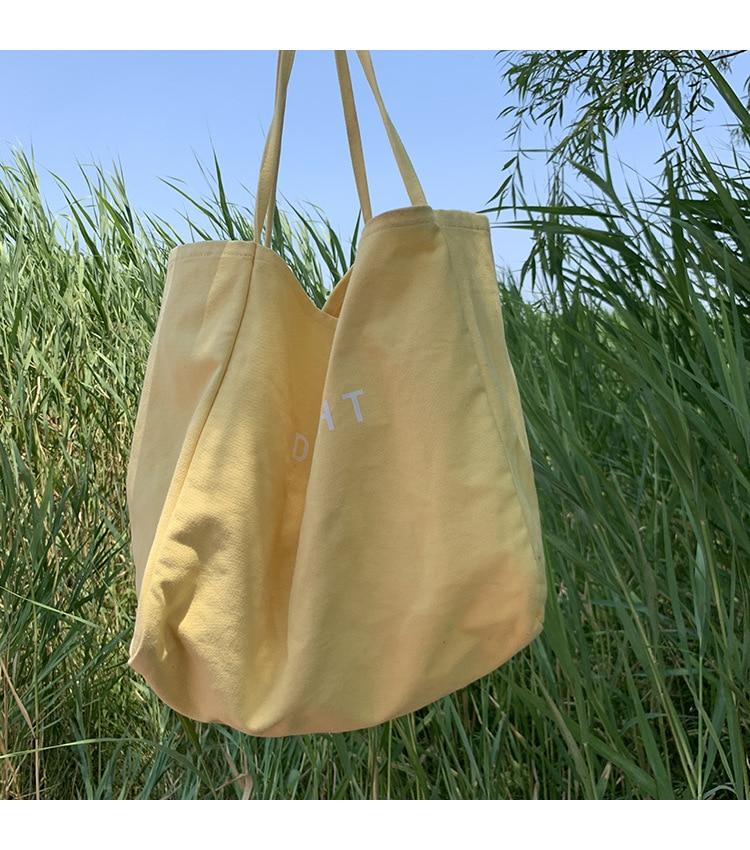 market tote wpouch Ready to Ship  Large tote bag Eco bag Invigorate Oro
