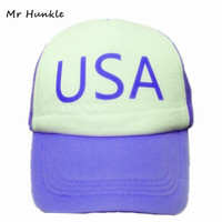 New Curved Bill BLUE PINE TREE Dipper Gravity Falls Cartoon Hat Cap Trucker Free Shipping