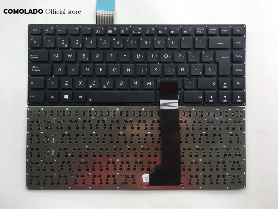 SP Spanish Keyboard For ASUS K46 K46CA K46CB K46CM S46C S46CB S46CM S46CA black Without Frame keyboard SP Layout in Replacement Keyboards from Computer Office