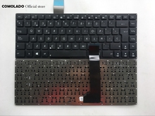 SP Spanish Keyboard For ASUS K46 K46CA K46CB K46CM S46C S46CB S46CM S46CA black Without Frame keyboard  Layout
