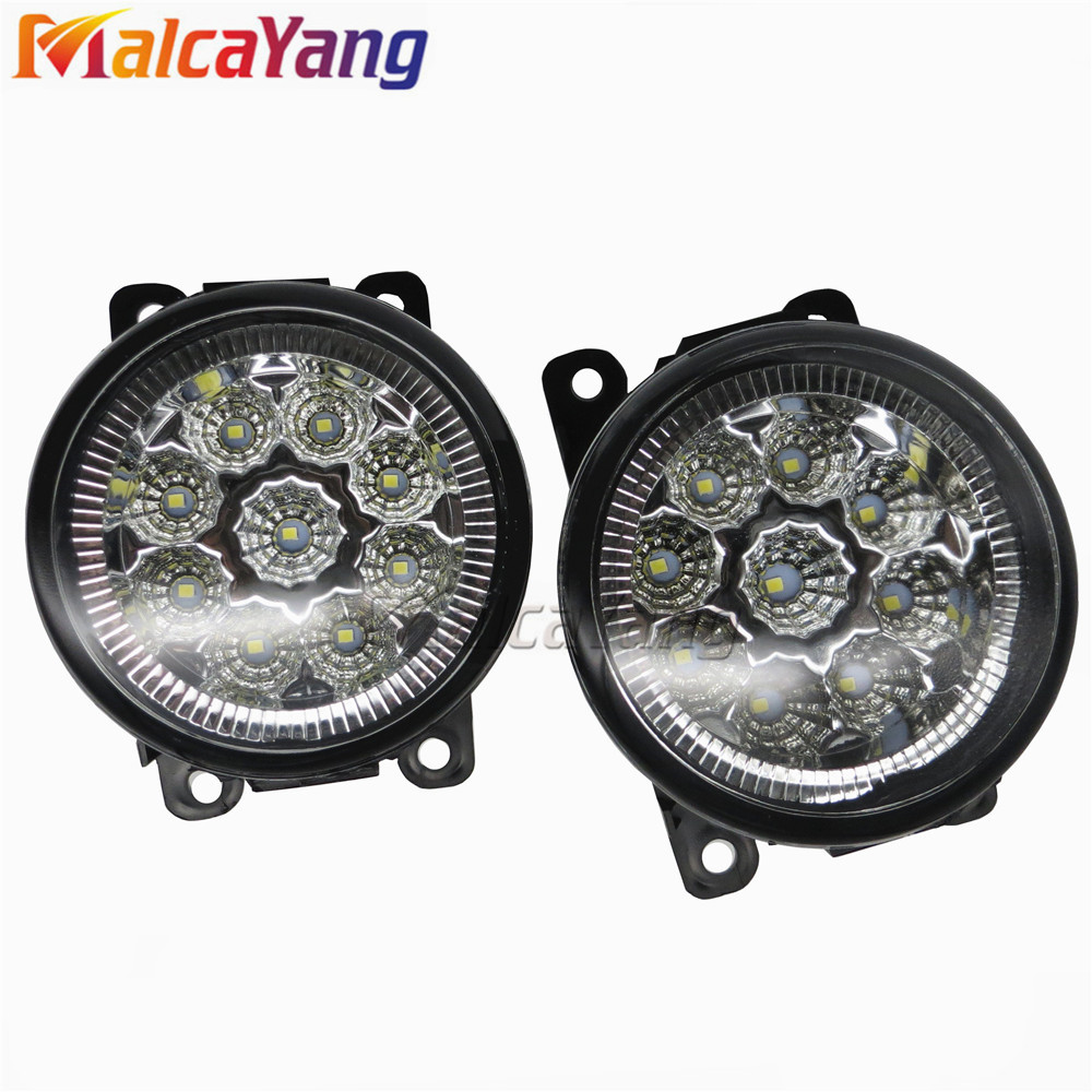 Car styling LED Fog lights halogen lamps 620639 620662 6206E1 For Citroen C3 C4 C5 C6 C-Crosser JUMPY Xsara Picasso 2004-2012