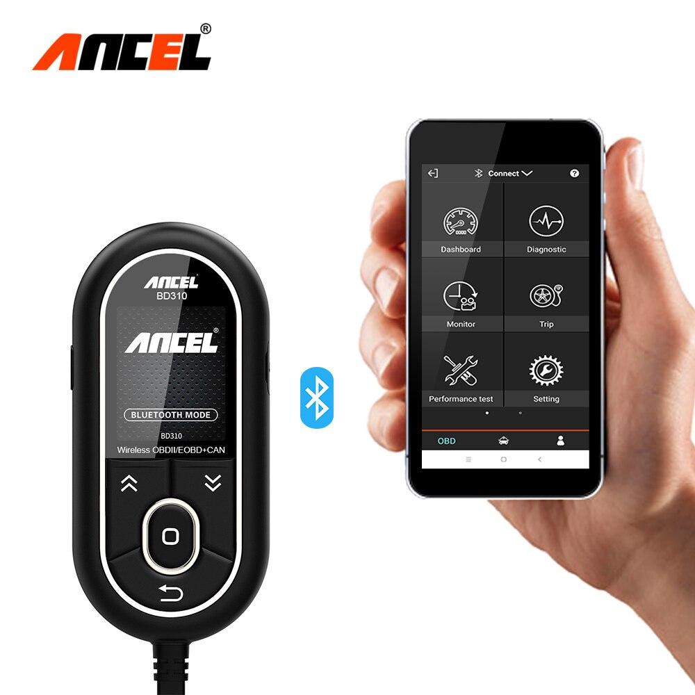 Ancel BD310 3 In 1 OBD2 Scanner Bluetooth Automotive Scanner Digitale Geschwindigkeit Meter Besser als AD310 + A202 + EML327 auto HUD Display
