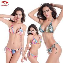 2017 Swimwear Low waist Bikini Summer Sexy Swimwear Women Swimsuit Multicolor Push Up Bikini beach wear
