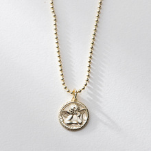 6f5249b5e LouLeur 925 sterling silver angel baby pendant necklace gold fashion  original design figure necklace for women