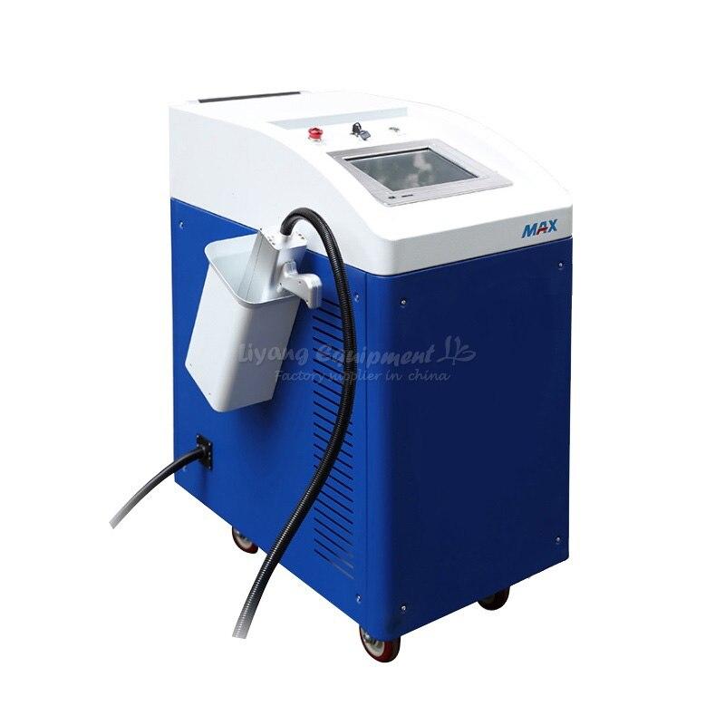 LY лазерный Бесконтактный удаления накипи удаления ржавчины clearning машина 100 Вт 200 Вт 220 В 110 В для дополнительного