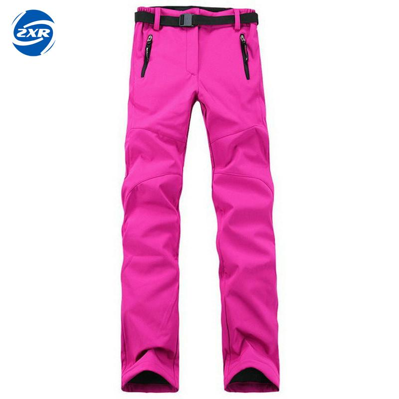 Women Thick Warm Fleece Softshell Pants Fishing Camping Hiking Skiing Trousers Waterproof Windproof New Pantolon Tactical Pants rax 2015 thermal fleece hiking pants for men women winter outdoor sports warm fleece trousers fleece camping pants 54 4f089