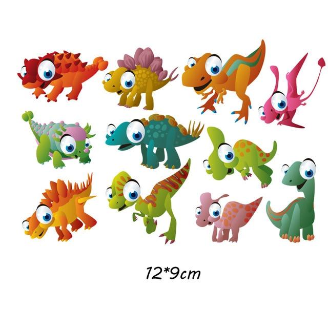 Милый мультфильм животных Комбинации гладить на патч ручной работы термоприклеивание, наклейки для Костюмы значки аппликаций для украшения из ткани - Цвет: J-61-28