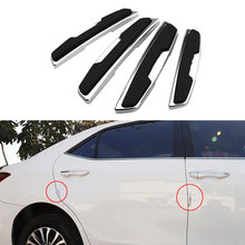 Car Door Edge Guard Strip Scratch Protector Strips For Toyota Corolla RAV4 Camry Prado Avensis Auris Hilux Prius Land Cruiser(China)
