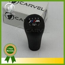 Livraison Gratuite Pour BMW 3 5 7 Série M E36 E46 E34 E38 M3 M Sport Emblème Logo Car Styling 5 Speed Gear Bâton Pommeau poignée