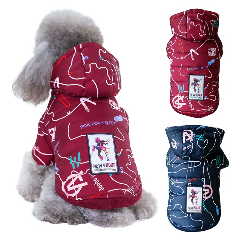 Winter Pet Dog Clothes Warm Down Jacket Waterproof Coat Hoodies for Chihuahua Small Medium Dogs Puppy Dog Coats & Jackets