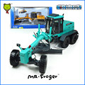 Mr.Fronger Motor Grader Model Refined metal alloy Engineering Construction vehicles truck Decoration Classic children Toy