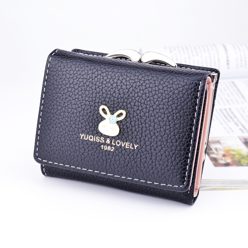 HNXZXB Tassels Zipper&Hasp Women Wallet For Coin Card Cash Invoice Fashion Lady Small Purse Short Solid Female Clutch wallet