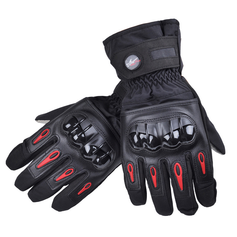 Madbike-motorcycle-gloves motorbike-warm-racing-full-finger-moto-motocross-guantes-de-moto-gloves-winter