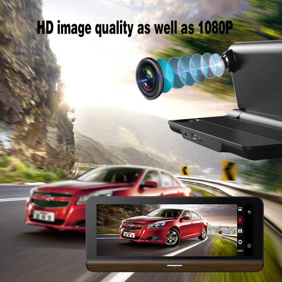 TOPSOURCE 4G Suppor Car DVR Camera Supported plus 7.8 inch Android 5.1 GPS BT Dash Cam Registrar Video Recorder Video Enregistre