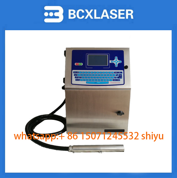 WuHan bcxlaser QR Code Logo Serial Numbers inkjet printer cheap price hot selling