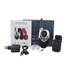 Newest Dog Trainer 1000 Yards Waterproof Rechargeable LCD Electronic Shock Remote Training Collar Pet Tool