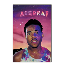 5b4a1e6392bc Chance the Rapper Acid Rap Painting Music Pop Art Poster Print Home Wall  decoration8x12 12x18 24x36stickers