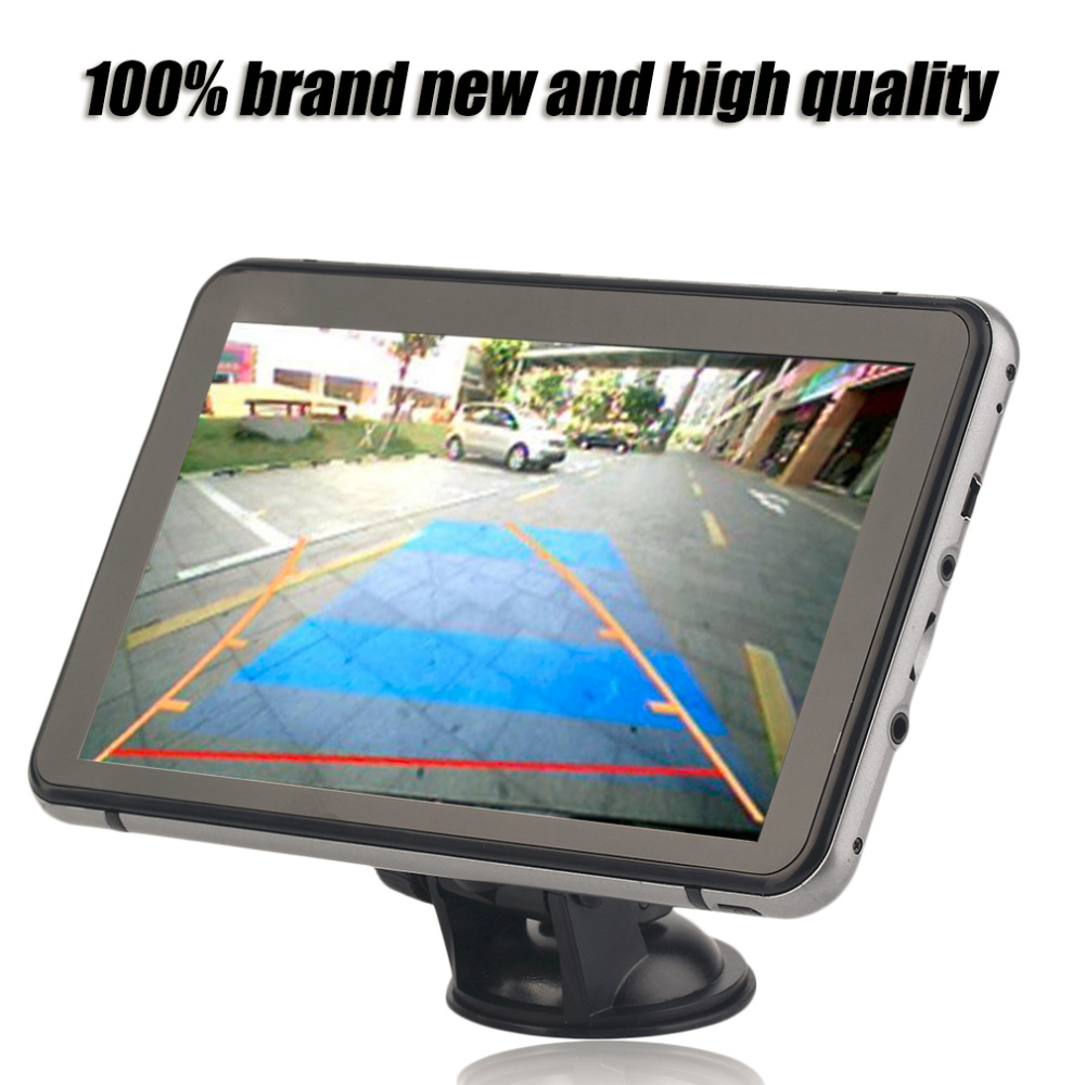 ФОТО 2017 Professional Automobile Car 800*480 Pixel GPS Navigation DVR Rear View Manually 350 Degree Rotation Navigator