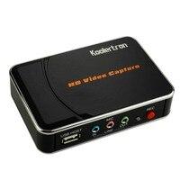USB Gra Urządzenie Przechwytujące Przechwytywania Wideo Full HD 1080 p Rejestrator pole przez HDMI lub YPBPR Przechwytywania Obsługuje do Konsoli Xbox 360, PS3