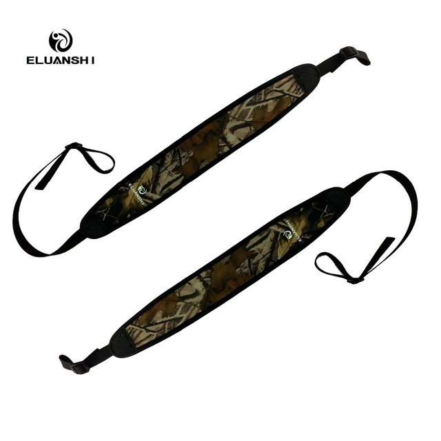 Soft Thick Prevent Slipping Camo Rifle Sling Tourbon Hunting Holsters Gun Shooting Airsoft M4 Glock Arma Ak 47 Accessories UA