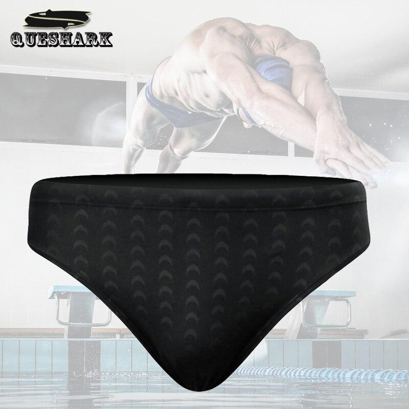 Swim Briefs Shorts Boxer Shark-Skin Sport-Trunks Competition Men S-5XL Quick-Dry