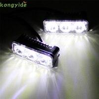Nowy 2 SZTUK Przepaścią Światła LED Knight Rider Zakres dla Samochodów Reflektorów DRL Światła Sygnalizacyjne akcesoria samochodowe