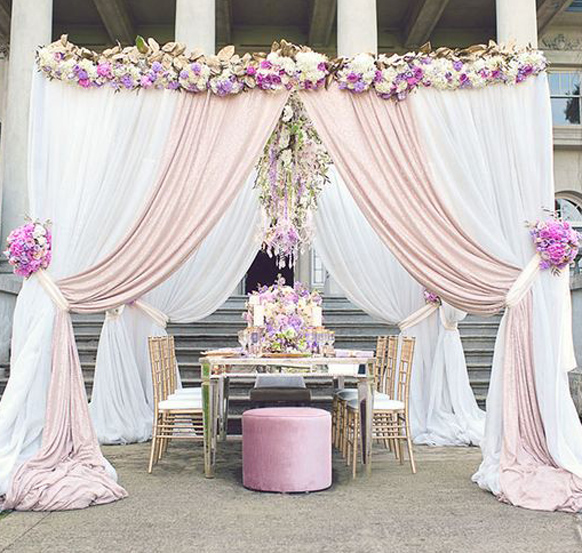 online get cheap pipe and drape wedding stage -aliexpress