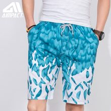 Fashion Print Swimwear Trunks for Men Summer Quick Dry Surf Beach Swimming Shorts 2019 New Sport Running Board short Male AM2102(China)