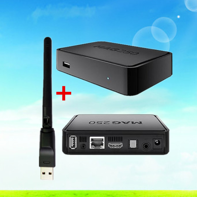 MAG 250 Iptv Set Top Box Without Iptv Account European IPTV Box MAG250 Support USB Connector