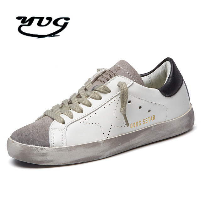 Running Shoes for Men Breathable Outdoor Sport Trainers Sneakers Cushioning  Male Shockproof Sole Italy Golden Genuine Leather 0c04826d2108