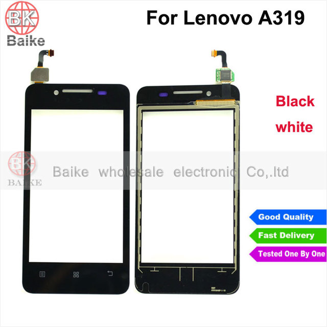 Replacement A319 Screen for Lenovo A319 Glass Digitizer Touch Screen Panel Parts 100% Tested Black White
